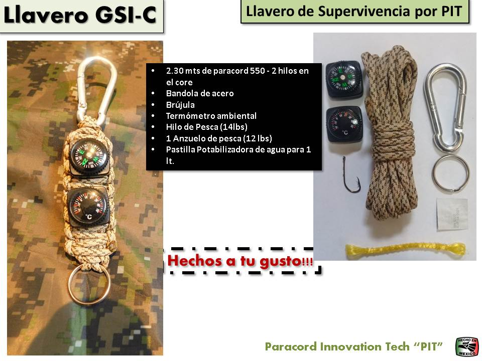 Llavero de Supervivencia Cobra GSI Chico